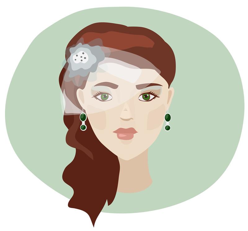 ピアスやイヤリングや女性のアクセサリーはたくさんある